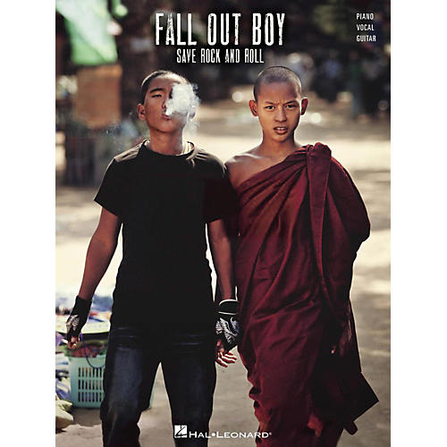 Hal Leonard Fall Out Boy - Save Rock And Roll Piano/Vocal/Guitar (PVG)