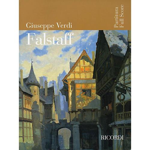 Ricordi Falstaff (Opera Full Score) Study Score Series Softcover Composed by Giuseppe Verdi