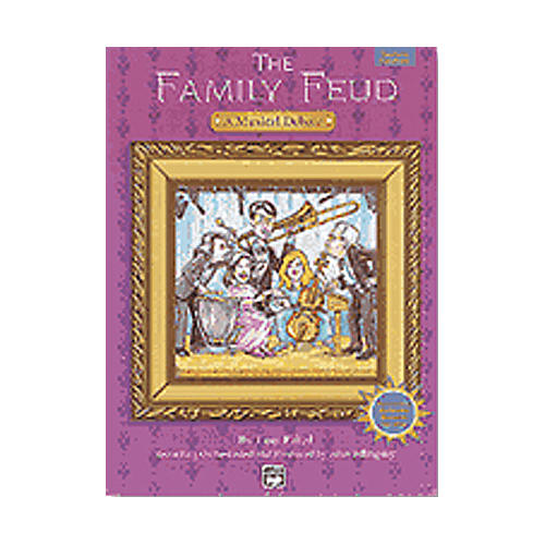 Alfred Family Feud Book and CD-thumbnail