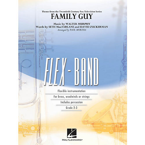 Hal Leonard Family Guy (Theme) - Flex-Band Series-thumbnail