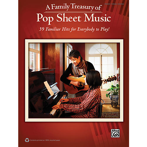 Alfred Family Treasury of Pop Sheet Music Book-thumbnail