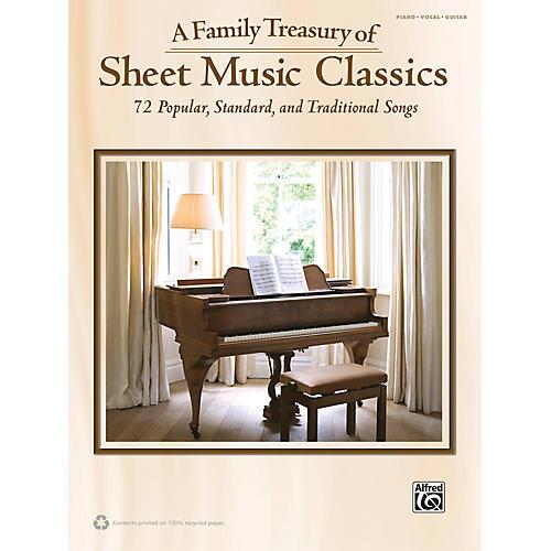 Alfred Family Treasury of Sheet Music Classics Book-thumbnail