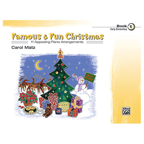 Alfred Famous & Fun Christmas Book 1-thumbnail