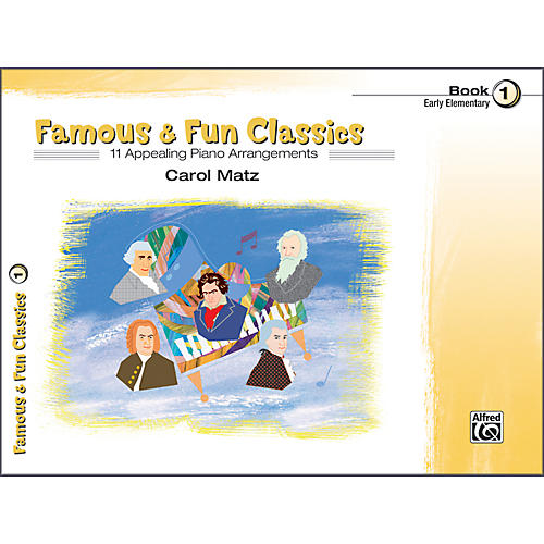 Alfred Famous & Fun Classics Book 1 Piano-thumbnail