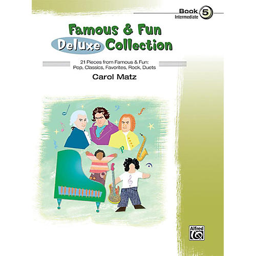 Alfred Famous & Fun Deluxe Collection Intermediate Book 5-thumbnail