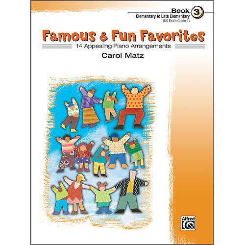 Alfred Famous & Fun Favorites Book 3 Piano-thumbnail