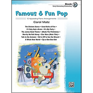 Alfred Famous and Fun Pop Book 2 by Alfred
