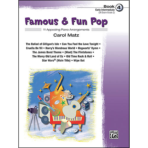Alfred Famous & Fun Pop Book 4-thumbnail