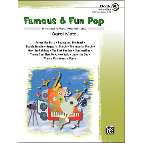 Alfred Famous & Fun Pop Book 5-thumbnail