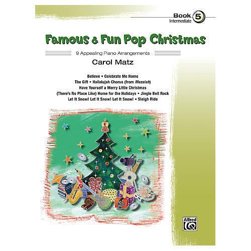 Alfred Famous & Fun Pop Christmas Book 5