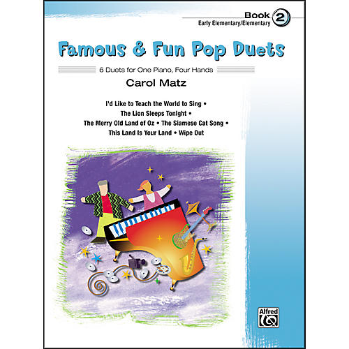 Alfred Famous & Fun Pop Duets Book 2-thumbnail