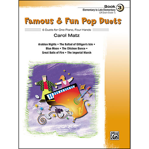 Alfred Famous & Fun Pop Duets Book 3-thumbnail