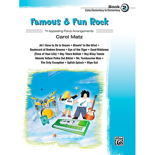 Alfred Famous & Fun Rock, Book 2-thumbnail