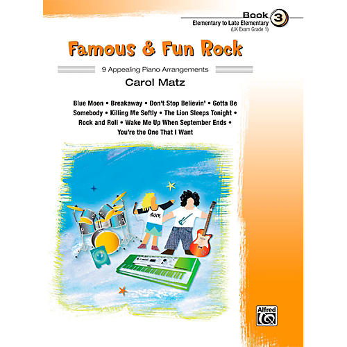 Alfred Famous & Fun Rock, Book 3