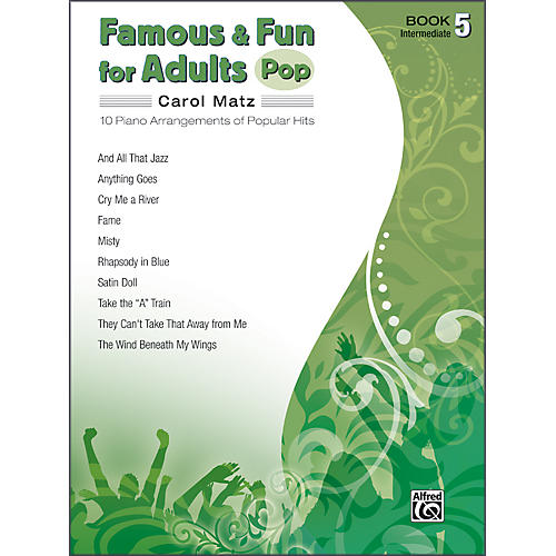 Alfred Famous & Fun for Adults Pop Book 5 Piano