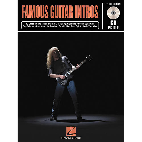 Hal Leonard Famous Guitar Intros - 3rd Edition (Book)