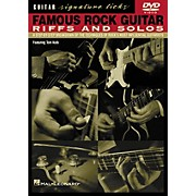 Hal Leonard Famous Rock Guitar Riffs and Solos DVD