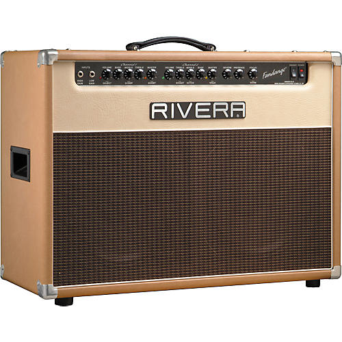 Rivera Fandango 212 55W Tube Combo Guitar Amp Palomino