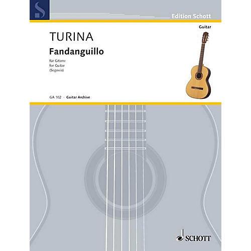 Schott Fandanguillo, Op. 36 (Guitar Solo) Schott Series