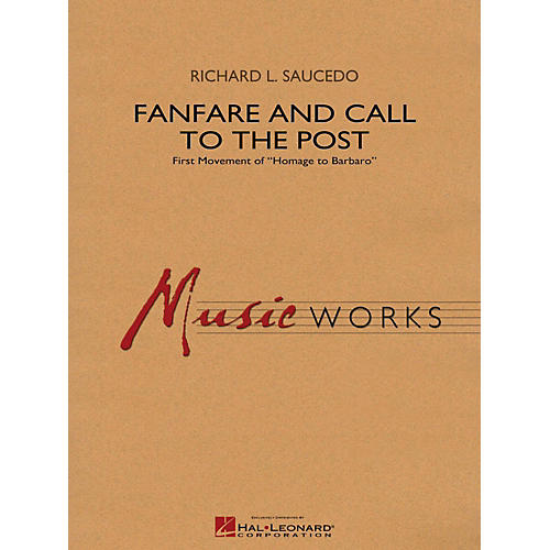Hal Leonard Fanfare and Call to the Post - MusicWorks Grade 4 Concert Band-thumbnail