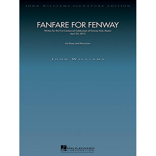 Hal Leonard Fanfare for Fenway John Williams Signature Edition - Brass Series by John Williams
