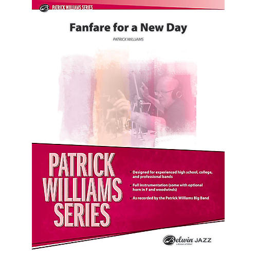 BELWIN Fanfare for a New Day Jazz Ensemble Grade 6 (Professional / Very Advanced)-thumbnail