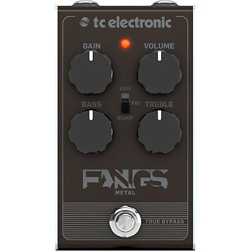 tc electronic fangs metal distortion effects pedal guitar center