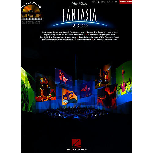 Hal Leonard Fantasia 2000 - Piano Play-Along Volume 120 Book/CD