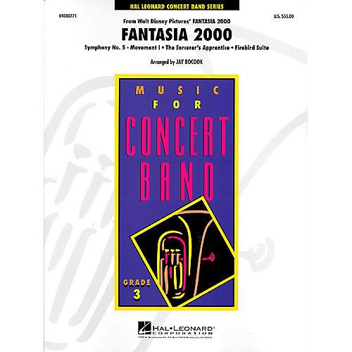 Hal Leonard Fantasia 2000 - Young Concert Band Level 3 by Jay Bocook