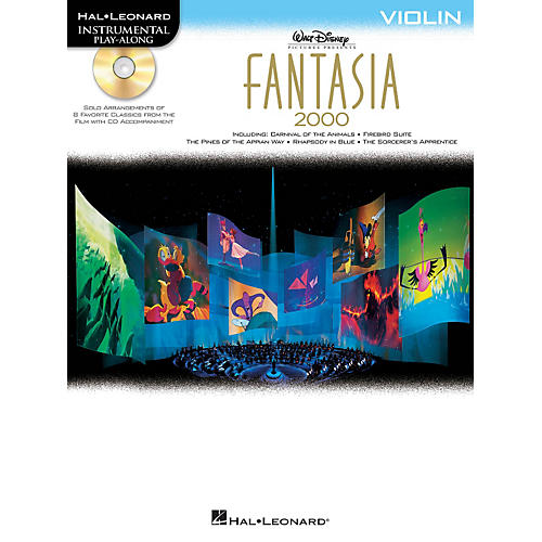 Hal Leonard Fantasia 2000 For Violin - Instrumental Play-Along Book/CD-thumbnail