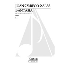 Lauren Keiser Music Publishing Fantasia for Piano and Wind Orchestra, Op. 95 LKM Music Series Composed by Juan Orrego-Salas