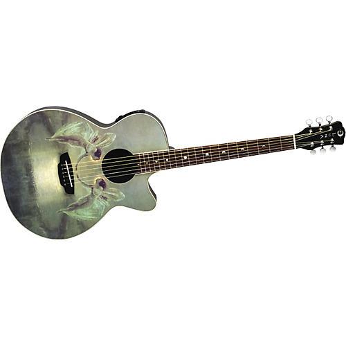 Luna Guitars Fantasie Spirit of the Night Acoustic-Electric Folk Guitar