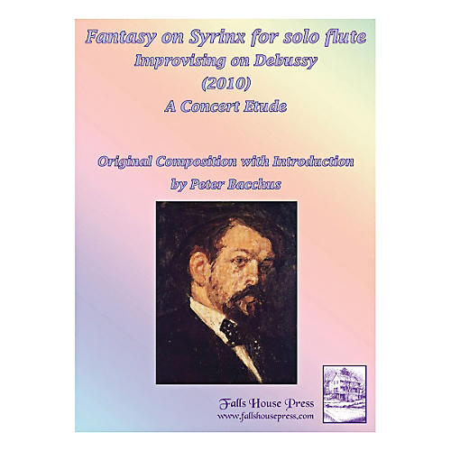 Theodore Presser Fantasy On Syrinx (Book)-thumbnail