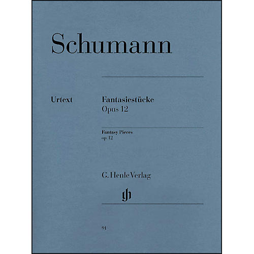 G. Henle Verlag Fantasy Pieces Op. 12 (with Appendix: Woo 28) By Schumann