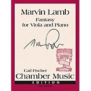 Carl Fischer Fantasy for Solo Viola and Piano