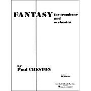 G. Schirmer Fantasy for Trombone Pno/Redorig for Orchestra