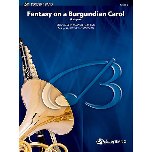 BELWIN Fantasy on a Burgundian Carol Concert Band Grade 3 (Medium Easy)