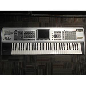 Pre-owned Roland Fantom G6 61 Key Keyboard Workstation