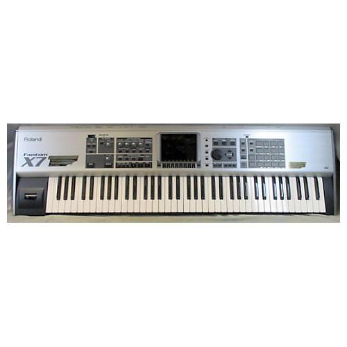 used roland fantom x7 keyboard workstation guitar center. Black Bedroom Furniture Sets. Home Design Ideas
