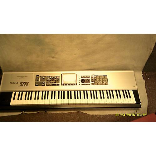 used roland fantom x8 88 key keyboard workstation guitar center. Black Bedroom Furniture Sets. Home Design Ideas