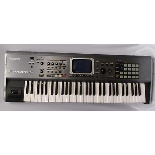 used roland fantom s keyboard workstation guitar center. Black Bedroom Furniture Sets. Home Design Ideas