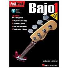 Hal Leonard Fast Track Method Bajo 1 - Spanish Edition (Book/Online Audio)