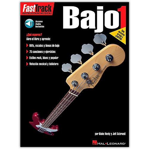 Hal Leonard Fast Track Method Bajo 1 - Spanish Edition (Book/Online Audio)-thumbnail