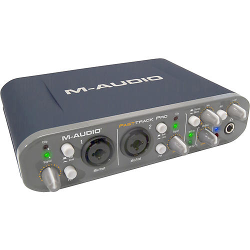 M-Audio Fast Track Pro Mobile USB Audio/MIDI Interface-thumbnail