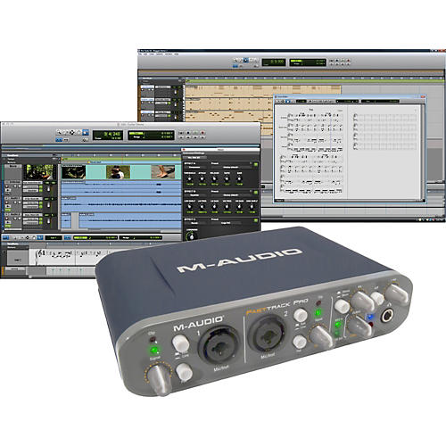 M-Audio Fast Track Pro Mobile USB Interface with Pro Tools SE