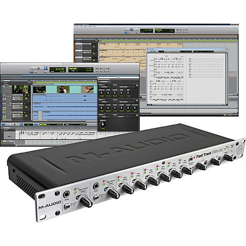 M-Audio Fast Track Ultra 8R USB Interface with Pro Tools SE