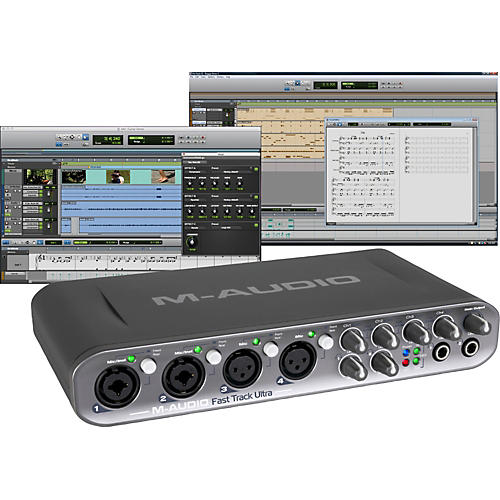 M-Audio Fast Track Ultra USB Audio Interface with Pro Tools SE