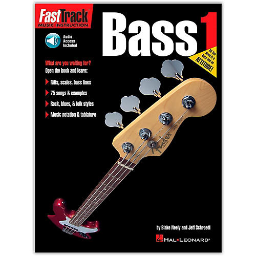 Hal Leonard FastTrack Bass Method Book 1 (Book/Online Audio)