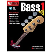 Hal Leonard FastTrack Bass Method Book 1 CD Package