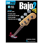 Hal Leonard FastTrack Bass Method Book 2 Book/CD Spanish Edition